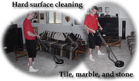 Hard surface cleaning